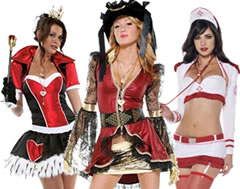 Sexy Costumes for Ladies