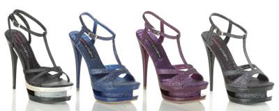 Sexy Glittery Platform Shoes
