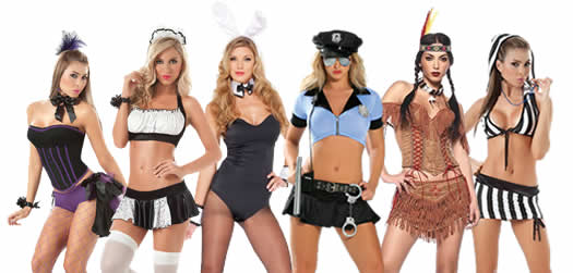 Bare as much as you dare with one of these sexy costumes.