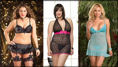 Plus Size Lingerie, Plus Babydolls, Plus Bra Set